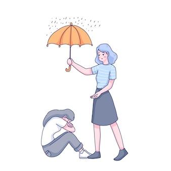 Diseño del día mundial de la prevención del suicidio