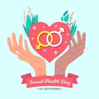 Diseño del día mundial de la salud sexual