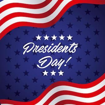 Diseño del día del presidente