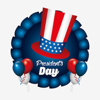 Diseño del día de los presidentes