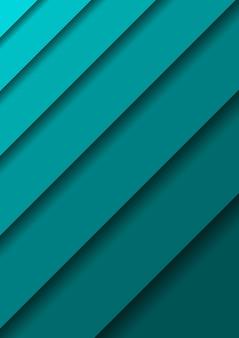 Diseño diagonal de la cubierta vertical