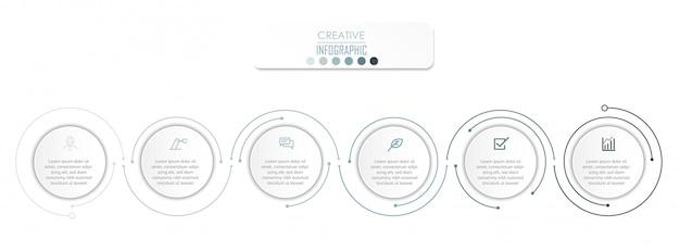 Diseño del diagrama de infografía