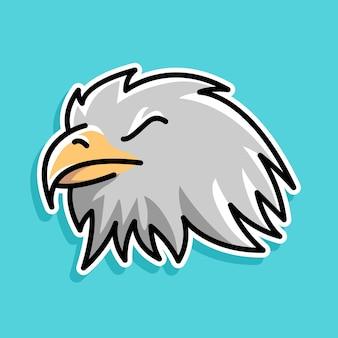 Diseño de dibujos animados de águila