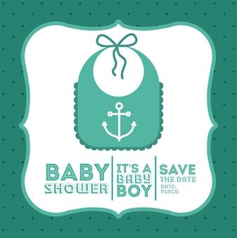 Diseño digital de baby shower