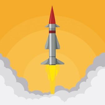 Diseño digital de cohetes.