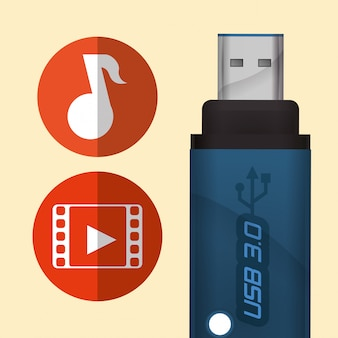 Diseño digital usb