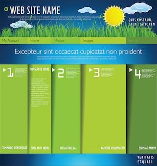 Diseño de diseño de la ecología moderna