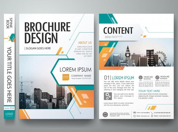 Diseño de diseño de forma abstracta verde