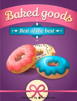 Diseño donuts imprimible
