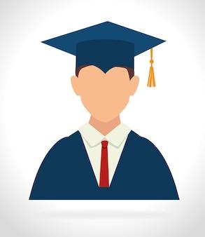 Diseño de la educación, ilustración vectorial