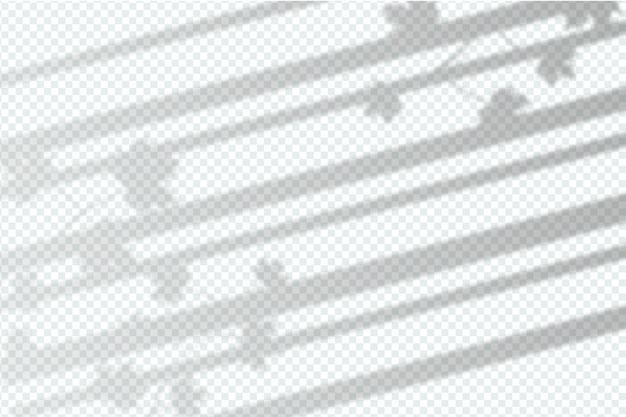 Diseño de efecto de superposición de sombras grises monocromas