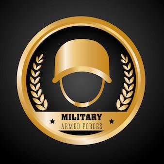 Diseño del ejército. iluistración