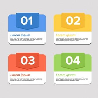 Diseño de elementos de infografía