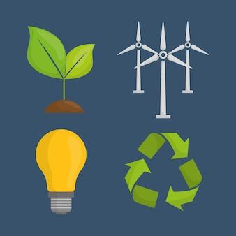 Diseño energético. iluistración