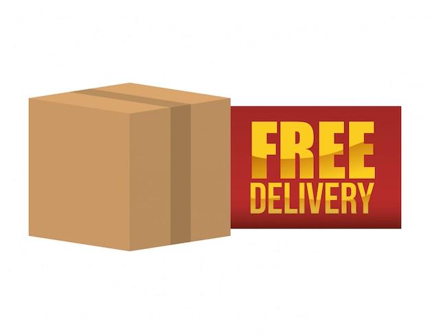 Diseño de entrega gratuita