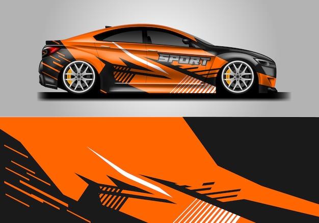 Diseño de envoltura de calcomanías para vehículos