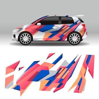 Diseño de envoltura de coche