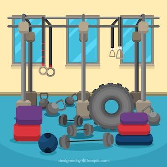 Diseño de equipamiento de levantamiento de peso