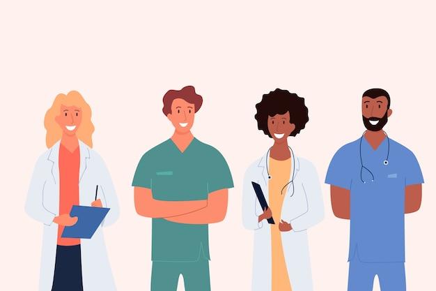 Diseño de equipo profesional de salud