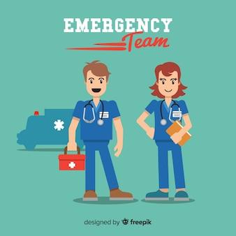 Diseño de equipo de servicios de emergencia