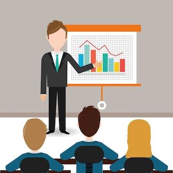 Diseño de estadísticas empresariales.