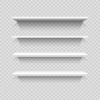Diseño de estanterías vacías