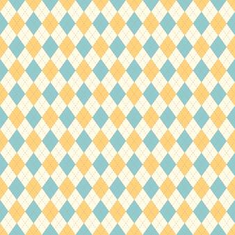 Diseño de estilo retro de patrones sin fisuras.