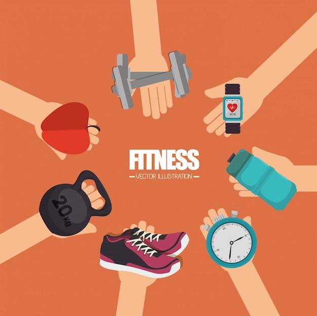 Diseño de estilo de vida fitness