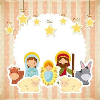 Diseño de la familia santa