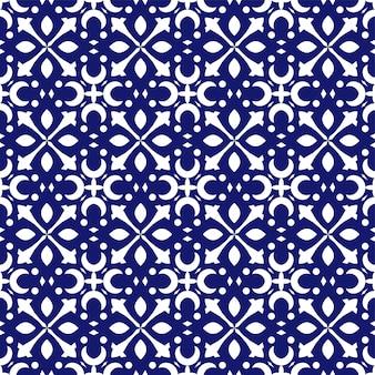 Diseño floral de patrones sin fisuras