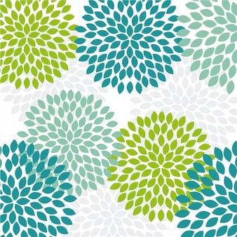Diseño de flores sobre fondo blanco ilustración vectorial