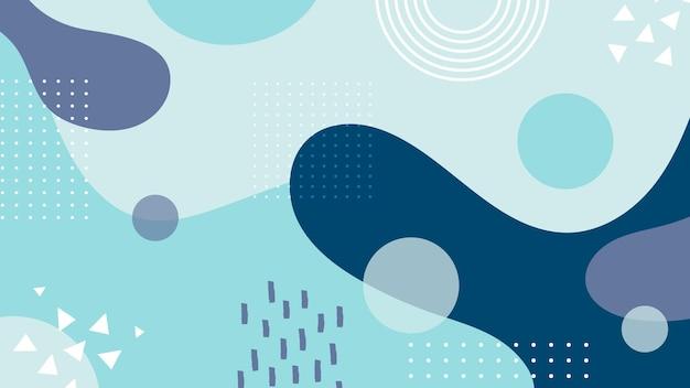 Diseño fluido de fondo abstracto