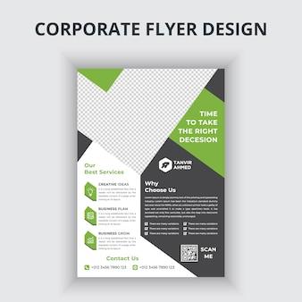 Diseño de flyer corporativo