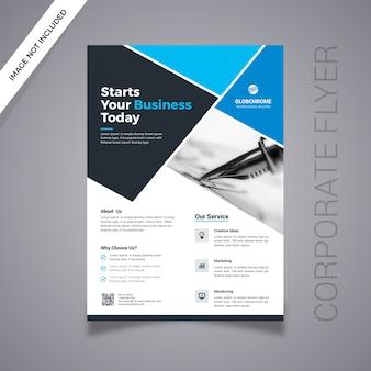 Diseño de flyer de negocios