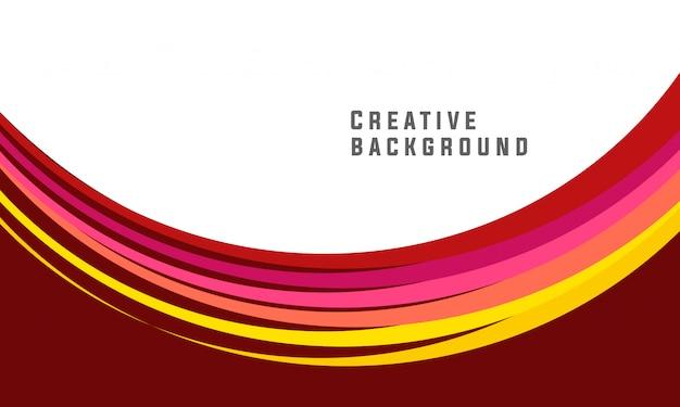 Diseño de folleto abstracto marrón