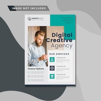 Diseño de folleto corporativo digital