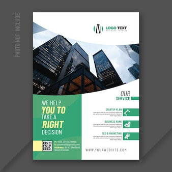 Diseño de folleto multipropósito