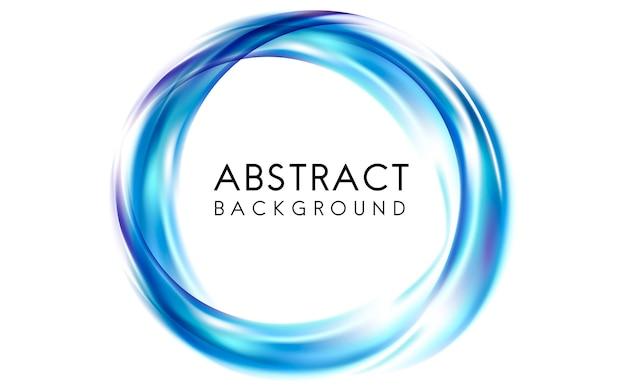 Diseño de fondo abstracto en azul