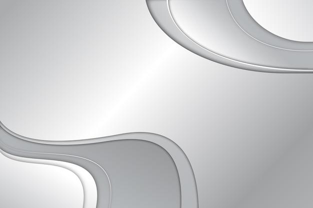 Diseño de fondo abstracto blanco