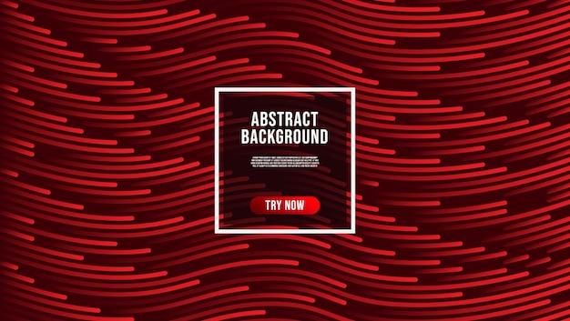 Diseño de fondo abstracto composición de líneas onduladas
