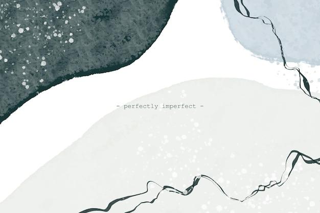 Diseño de fondo abstracto de estilo pintado a mano vector gratuito