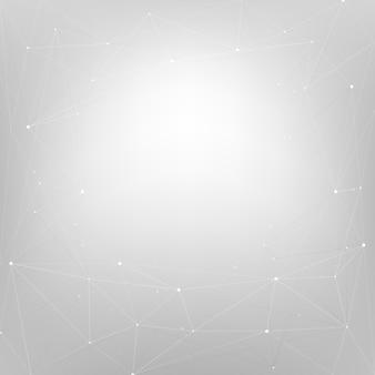 Diseño de fondo abstracto con estrellas en gris