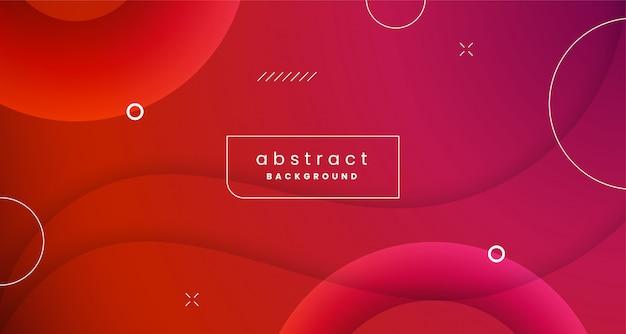 Diseño de fondo abstracto de forma dinámica colorida con vector de ornamento de elemento geométrico
