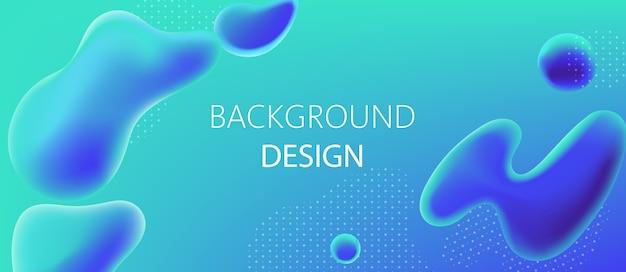 Diseño de fondo abstracto de gotas de agua