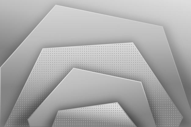 Diseño de fondo abstracto gris moderno