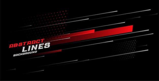 Diseño de fondo abstracto líneas deportivas