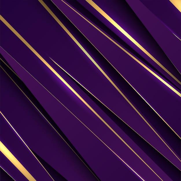 Diseño de fondo abstracto de lujo de púrpura