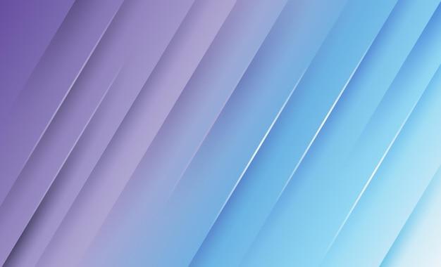Diseño de fondo abstracto moderno azul claro y púrpura