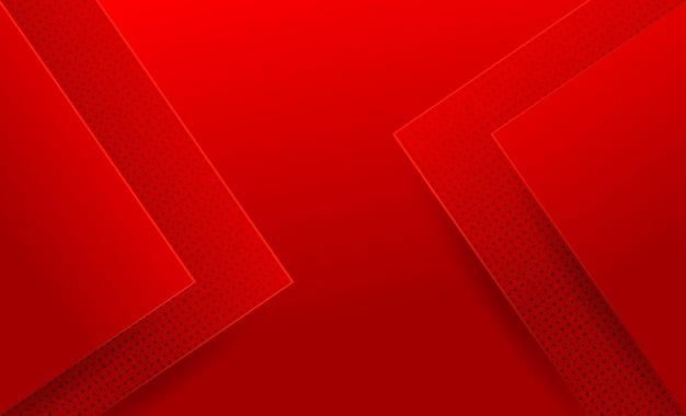 Diseño de fondo abstracto moderno rojo