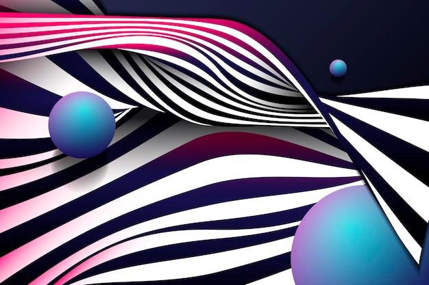 Diseño de fondo abstracto negro